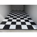 Garagevloer-kunststof-traanplaat-structuur-Kleur: grijs-alu