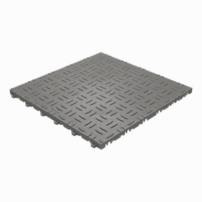 Garagevloer-kunststof-traanplaat-structuur- Kleur: donkergrijs