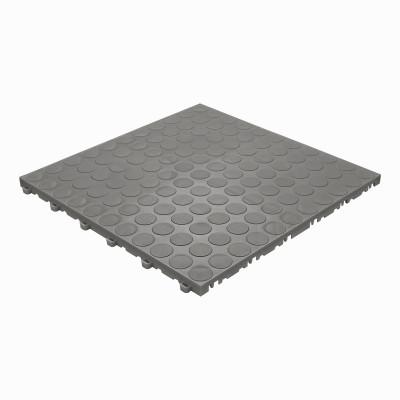 Garagevloer-kunststof-noppen-structuur-Kleur: donkergrijs