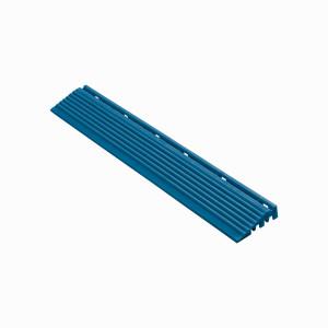 Afwerkrand blauw