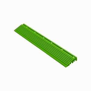 Afwerkrand geel-groen