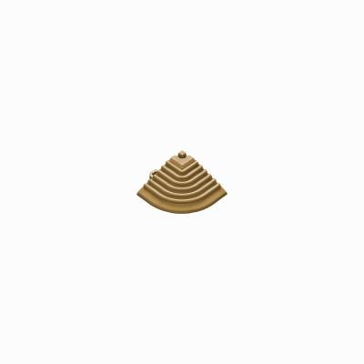 Afwerkrand-hoekstuk goudkleur
