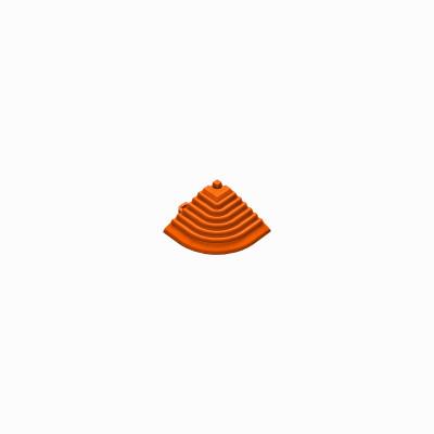 Afwerkrand-hoekstuk oranje