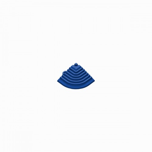 Afwerkrand-hoekstuk reflexblau